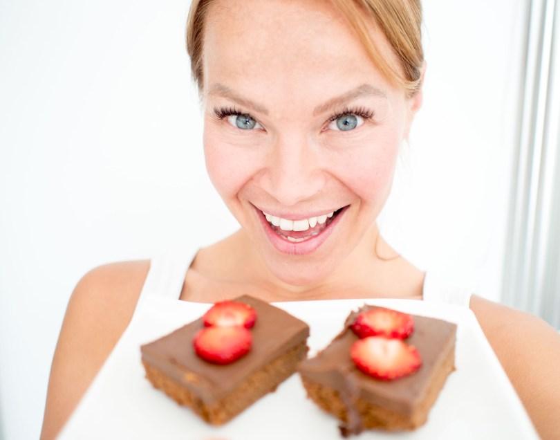 suklaa brownie