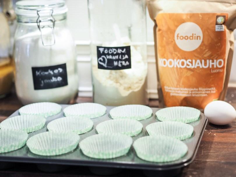 Helpot ja herkulliset proteiini muffinssit