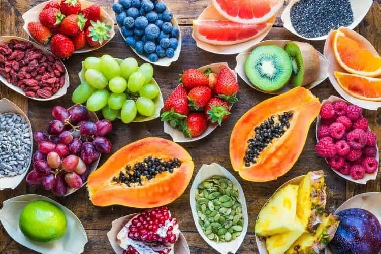 Image result for high protein fruits