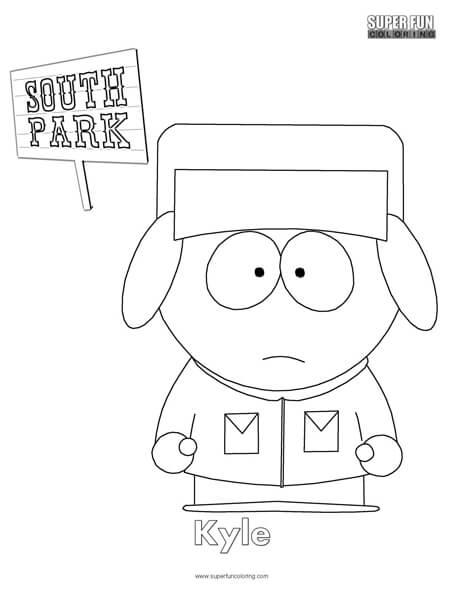 south park coloring pages # 18