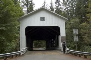 Restored Covered Bridge
