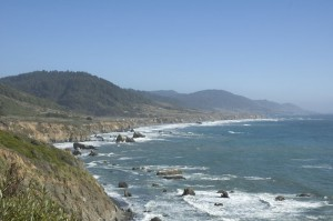 Highway 1 - View at Rockport, CA