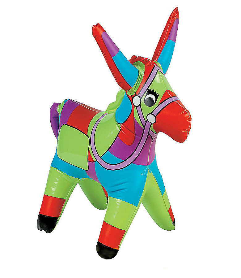 Donkey Pinata Inflatable Toy Blow Up Animals For Parties