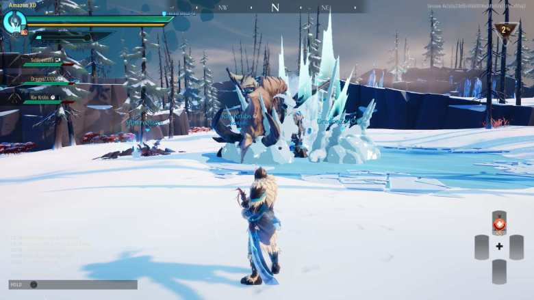 Dauntless Multiplayer Gameplay
