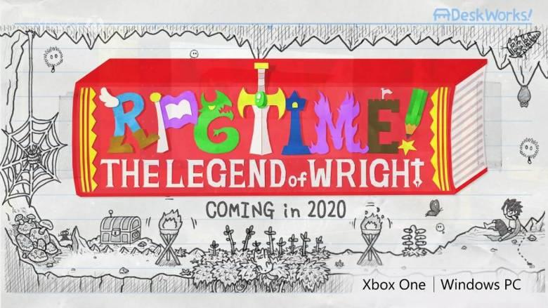 RPG Time Legend of Wright E3 2019 Logo