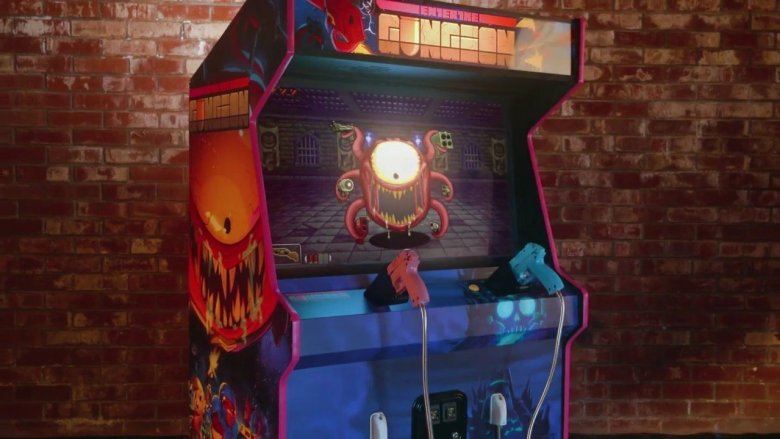 Enter the Gungeon House of the Gundead Arcade Cabinet