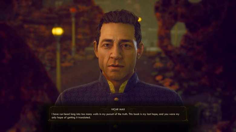 Outer Worlds Vicar Max