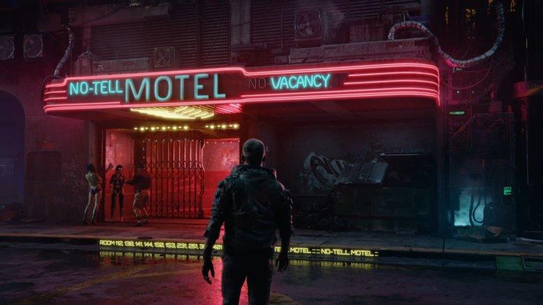 Protagonist Walking up to Motel
