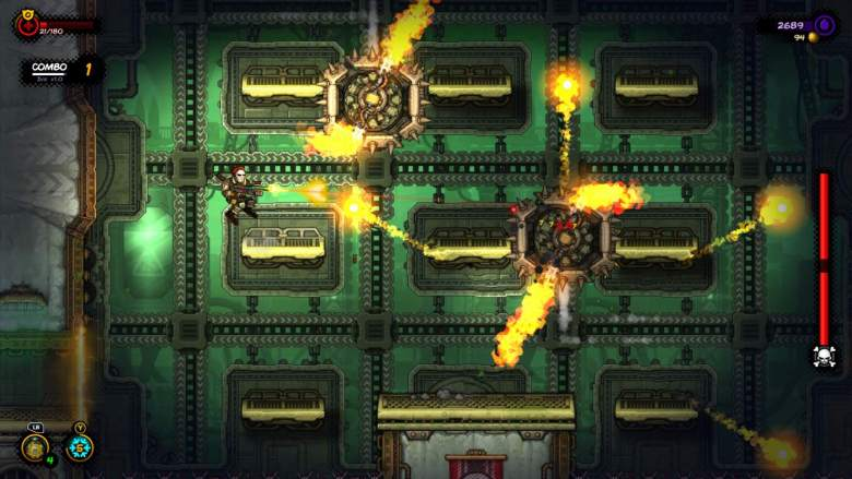 Fighting a Boss in Fury Unleashed