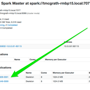 spark tutorial completed applications