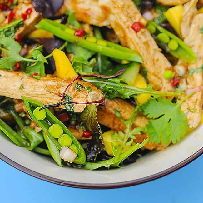 Thai-style Turkey Salad