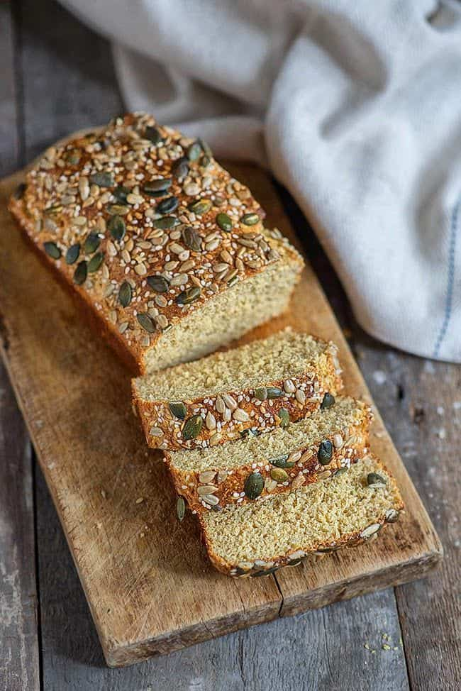 Super easy low-carb bread