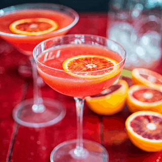 A techinicolor version of the classic cocktail - this blood orange Cosmopolital will breathe new life into this cocktail favourite.