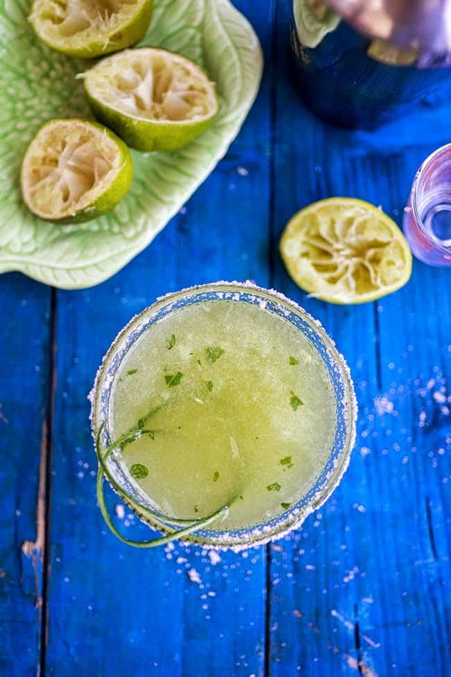 This cucumber and mint margarita is deliciously refreshing – make a big batch as you will certainly want more than one!