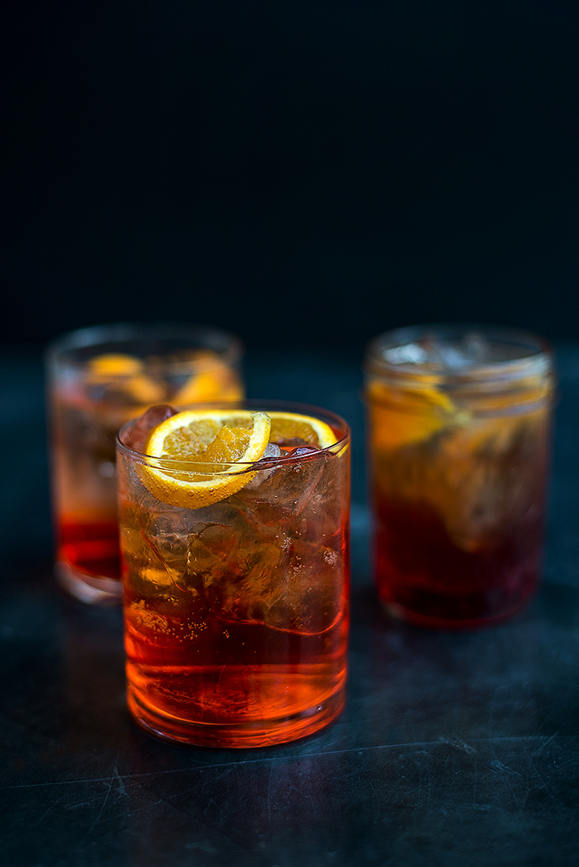 Retro Cocktail Friday: Aperol Spritz and Vodka Negroni