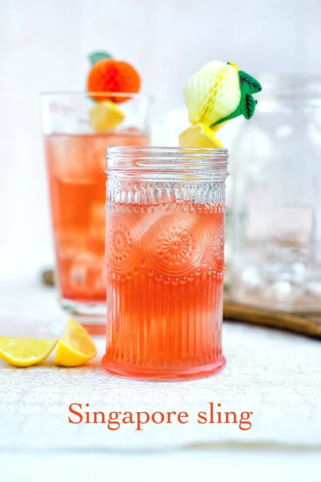 Cocktail Friday: The Singapore Sling