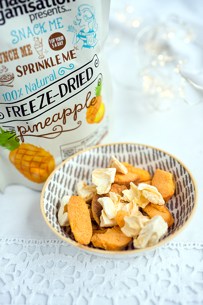 The Snack Organisation Presents…Freeze Dried Fruit