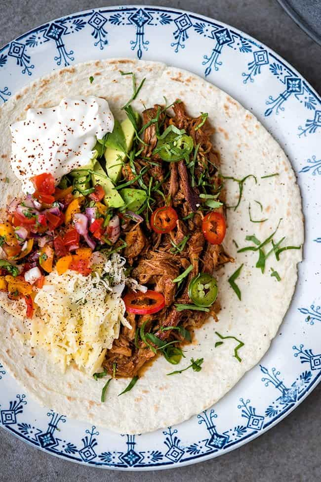 Mexican Slow Cooker Pulled Pork