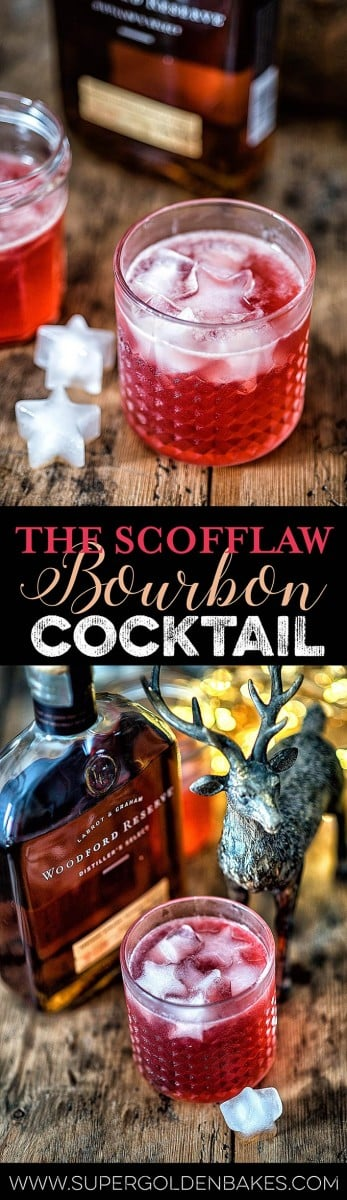 Get ready to meet your new favourite bourbon-based cocktail. The Scofflaw was named after those who scoffed the law by drinking during the Prohibition | Supergolden Bakes