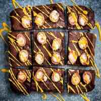 Totally addictive Creme Egg Brownies