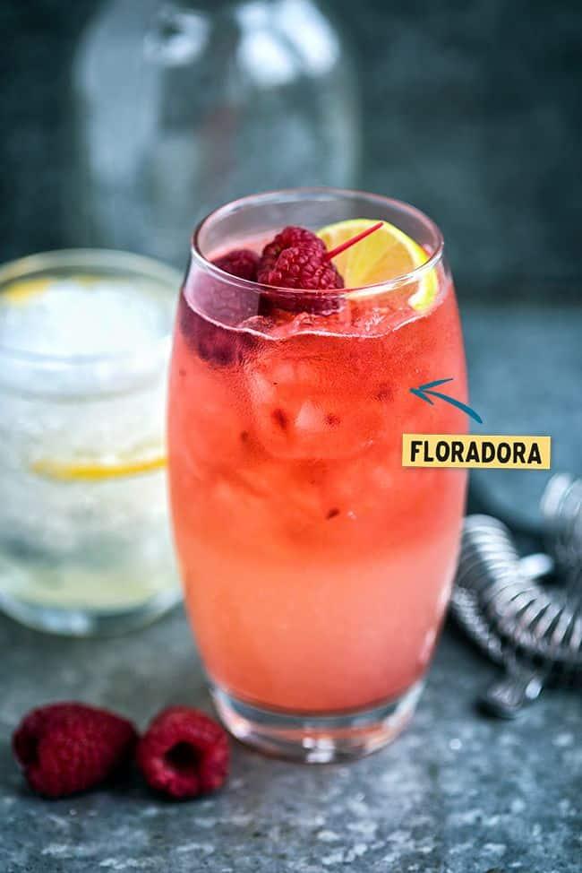 The Floradora – a wonderfully refreshing gin cocktail