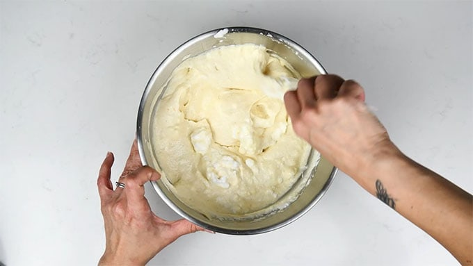 Making slimming world cheesecake