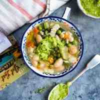 Green Minestrone Soup with Pistou