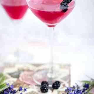 The Botanist gin cocktail uses blackberry jam to create a beautifully vibrant and delicious drink.