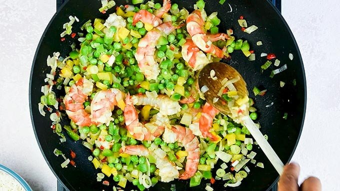 This 10-minute shrimp fried rice could not be easier and it tastes miles better than takeaway. An quick meal that's sure to become a family favourite.