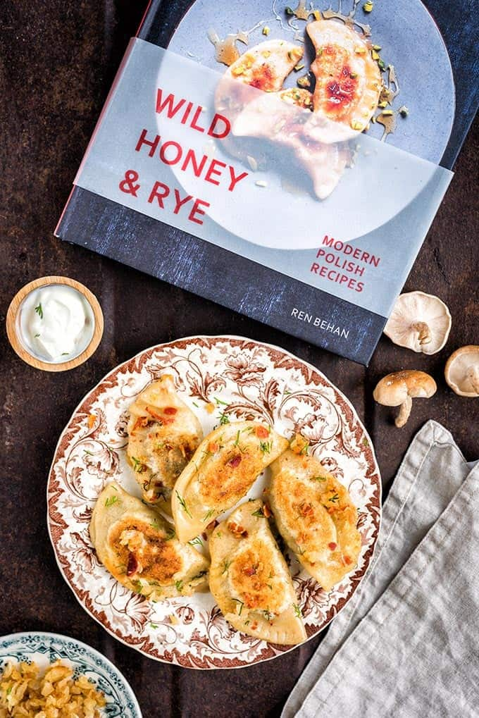 Making traditional Polish pierogi (dumplings) from scratch is a labour of love, but they taste infinitely better than store-bought. Recipe adapted from Wild Honey & Rye by Ren Behan