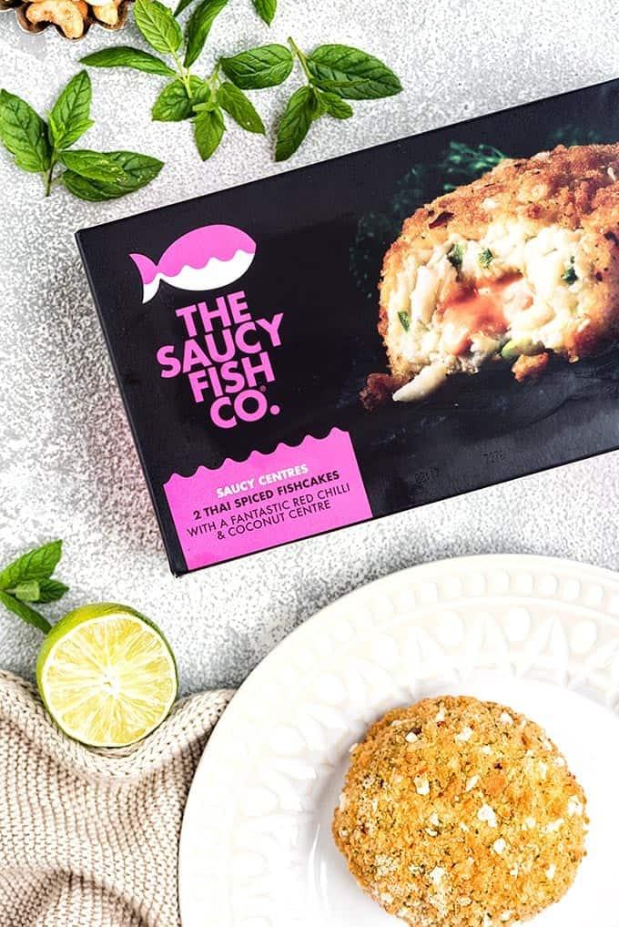The Saucy Fish Co. Thai spiced fishcakes
