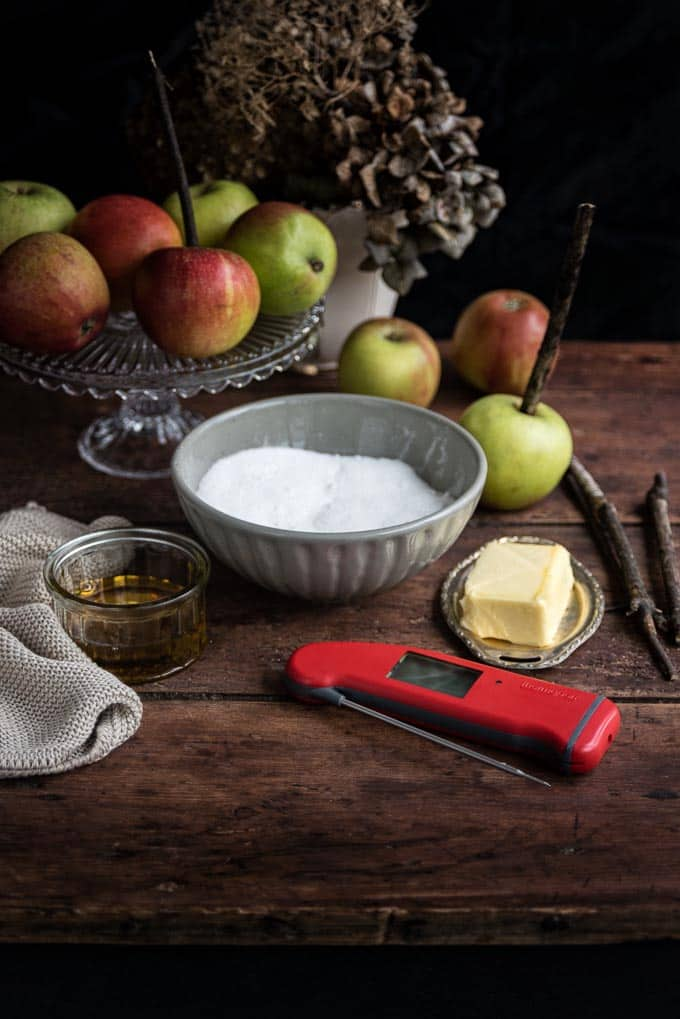 Making toffee and candy apples is easy with the aid of a Thermapen