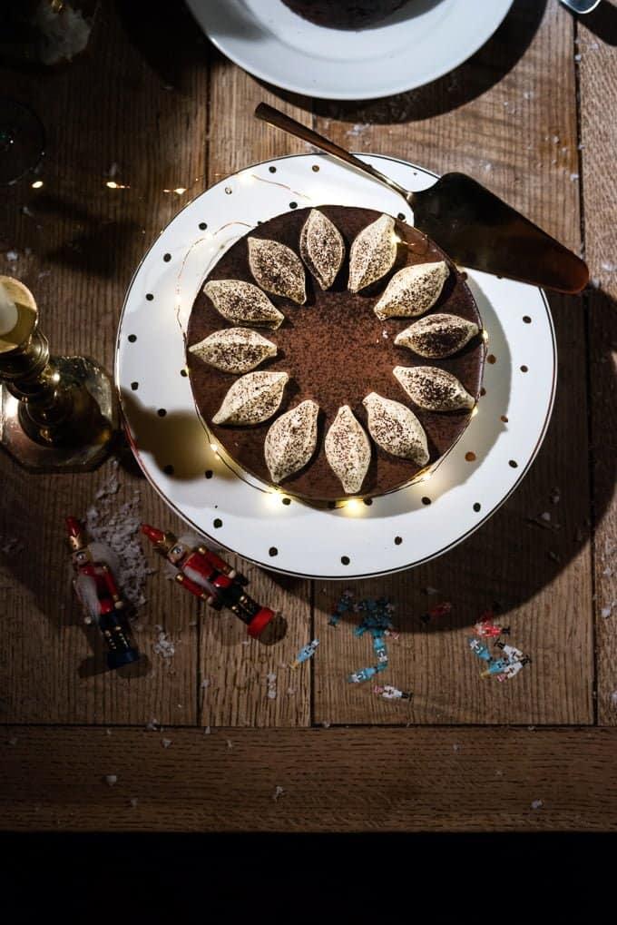 Waitrose mocha cheesecake