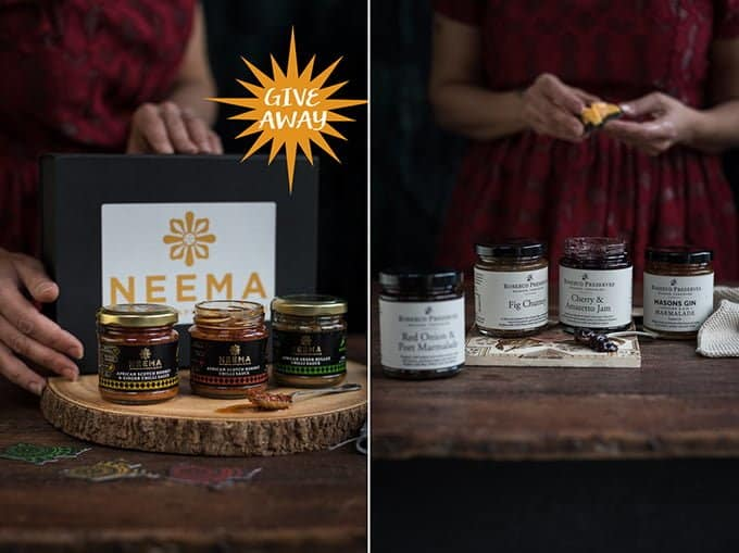 Delicious preserves and fiery African condiments will keep your festive table tasty.
