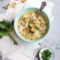 Pressure cooker Italian chicken soup