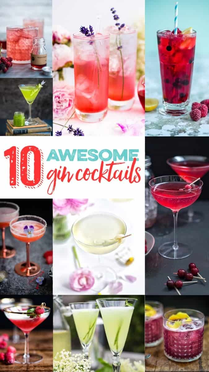 10 awesome gin cocktails roundup