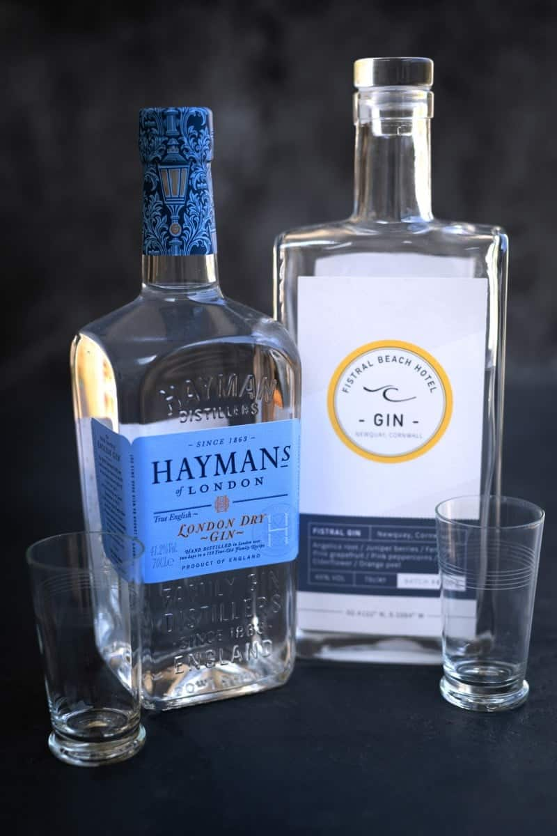 Haymans gin and Fristral gin