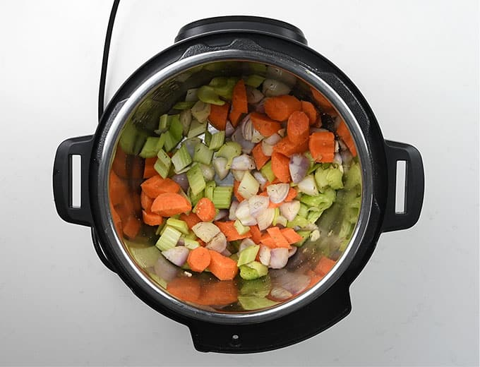 Making giouvetsi in the Instant Pot