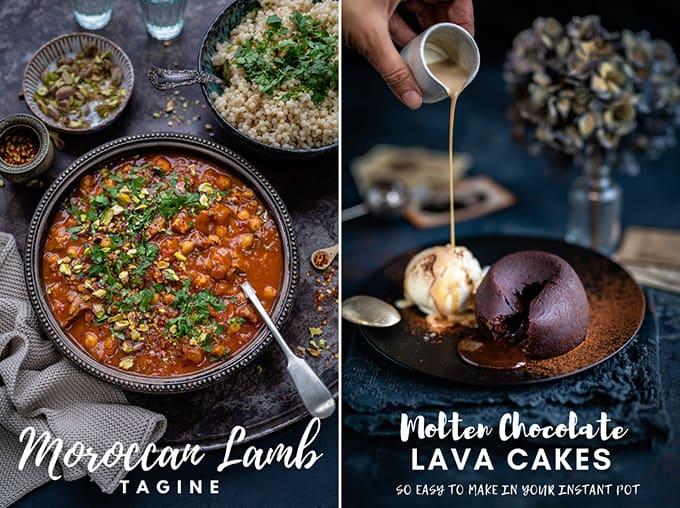 Supergolden Bakes recipe collage