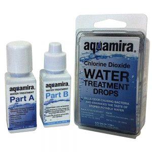 Aquamira Chlorine Dioxide Water Treatment Drops