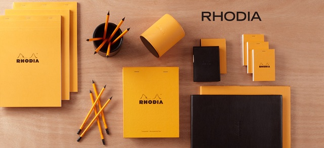 Rhodia notebook collection