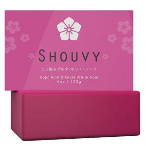 Shouvy Kojic Acid & Glutathione Whitening Soap