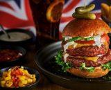 Hamburger - Mini brochette de porc marinée