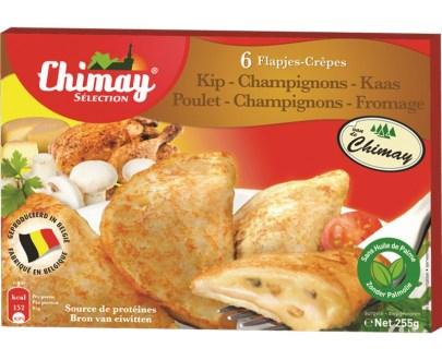chimay crepes pou ch 255gr - Crêpes champignons