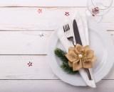 christmas table setting PY79Y92 - Pain de viande