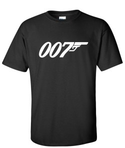 007 James bond black