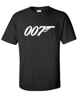 007 James bond black