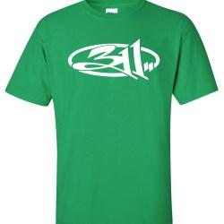 311 rock band Green