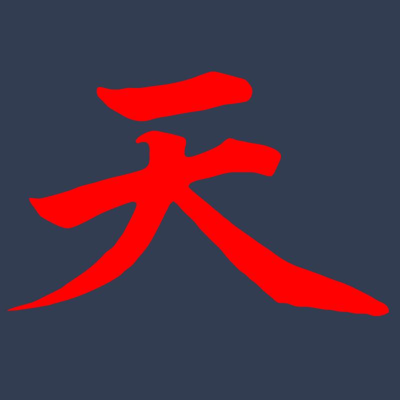 Akuma Street Fighter Gouki Devil Logo Graphic T Shirt Supergraphictees