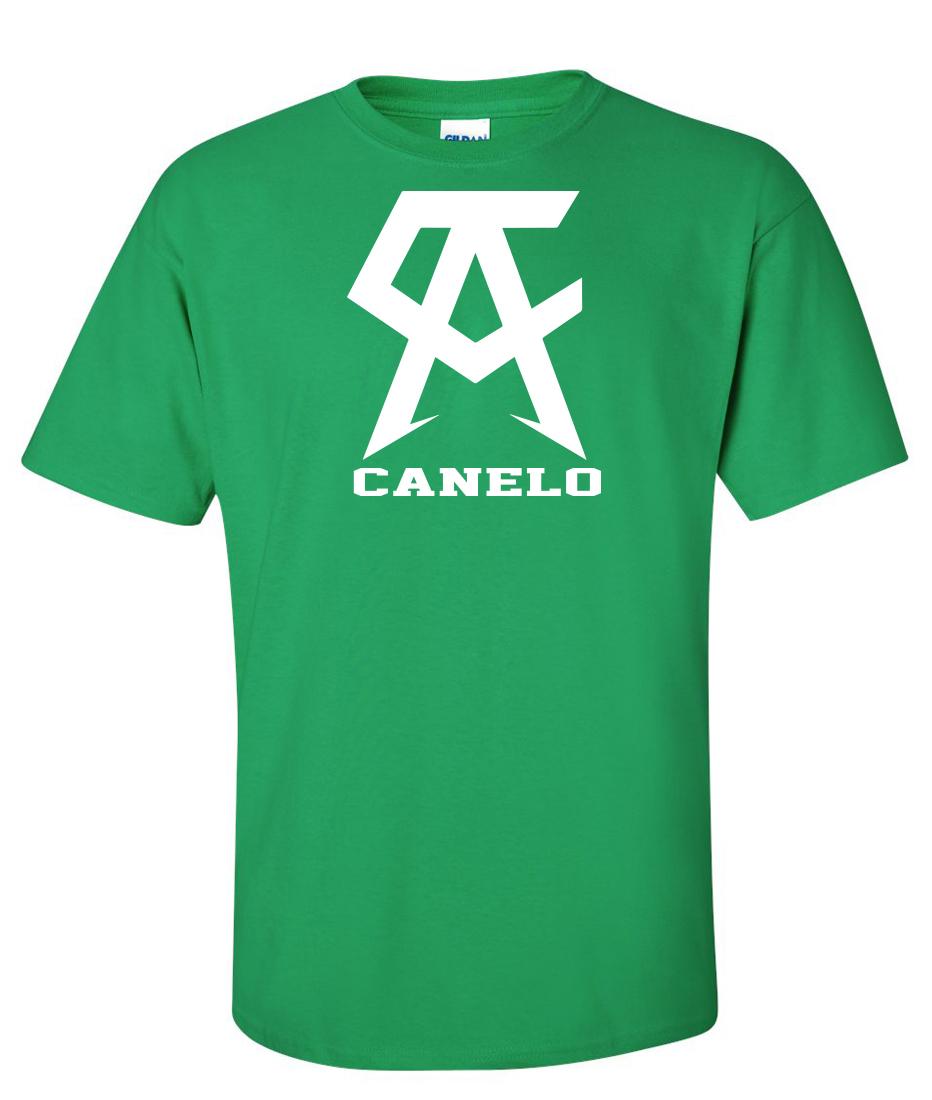 bb2e53434 Canelo Alvarez logo Graphic T Shirt Supergraphictees